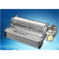 AC cross flow blower