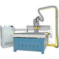 MDF CNC Router  RF-1325-3.0KW dust collector/ Vacuum absorption table
