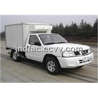 Nissan Pickup With Refrigerated Van