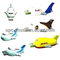 OEM Airplane Shaped USB Flash Drive