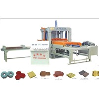 Paving  brick machine Model Hot seller