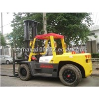 Used Forklift TOYOTA 10T For Sale In Good Condition