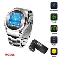 1900Mhz PDA Bluetooth GSM Multimedia Phone Watch Movie Phone