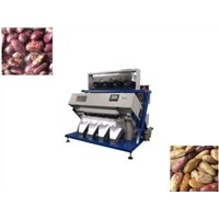 220V 0.08mm Recognition Accuracy Grading Bean Colour Sorting Machines