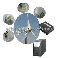 2,000W Horizontal Axis Wind Turbine with 2.3m/s Start-up Wind Generator and 3 Blades Type
