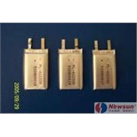3.7V Rechargeable Lithium Polymer Battery for Phones