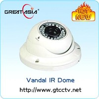 420TVL Sony CCD CCTV Dome IR Camera with 4-9mm lens