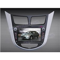 7'' 2DIN SPECIAL CAR DVD PLAYER WITH GPS FOR HYUNDAI VERNA