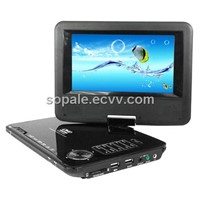 7inch portable DVD media player