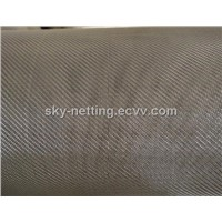 AISI 304 Twill Weaved Stainless Steel Wire Mesh