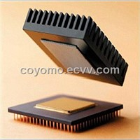 Adhesive thermal silicon pad