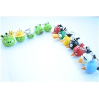 Angry bird key chains
