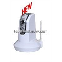 CCTV PTZ IP Wireless Camera System with Dual Audio Remote Control (TB-M005BW)