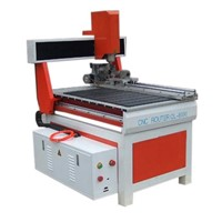 CNC Machine with Rotary