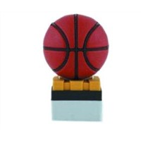 Cartoon blown basketball Custom Usb Flash Drives in PVC for Netbook