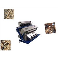 Cashew Nut CCD Color Sorter Machine at 5.0 - 5.5 Handling Capacity