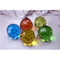 Chandelier Parts, Crystal Faceted Ball