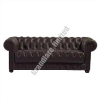 Chesterfield Leather Sofa 1+2+3  GYM034