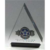 Clear PMMA Printable Acrylic Display Holders Gift Card Stand for Star Products