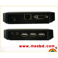 Clouding computer, think client,office station, network station,NComputing. with 3 USB ports