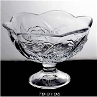 Cold dessert glass cup for ice cream 11oz