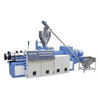 Conical Twin Screw Extruder (SJZ -80)