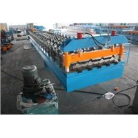 Customized 3Phase 60Hz Deck Roll Forming Machine for Galvanized Steel Sheet