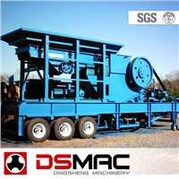 DSMAC Portable Jaw Crusher (DMP Series)