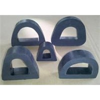 D section rubber fender