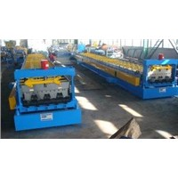 Deck Roll Forming Machine with 3kw Hydraulic Station Power for Galvanized Steel Sheet