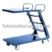 Dispath Trolley / ladder carts