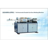 Double can ears welding machine