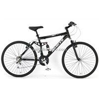 Dual suspension mountain bike MTB bicycle