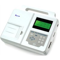 EM03A Three Channel ECG Machine