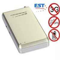 EST-808SF 4 band MINI Portable cell phone signal jammer