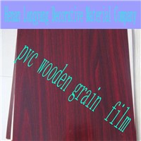 Excellent PVC Wooden Grain Film as Decorative Film