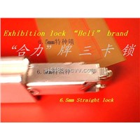 Exhibition construction equipment tension lock