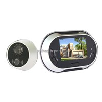 Recorable 3.5inch Peephole Viewer + Door Bell (PHV-3502)