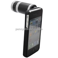 Fashionable 6 time Phone Zoom Lens for Iphone4/4S