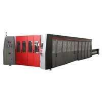 Fiber laser cutting machine high power laser cutting machine