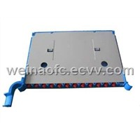 "Fiber Optic Splice Tray for Rack Mount 19"" Patch Panel"