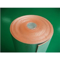 Fireproof Closed Cell XPE Foam Foil Insulation