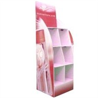 Floor Standing Retail Corrugated Cardboard Counter Displays for Shop