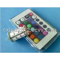 G4 RGB 18SMD LED Lamp with Remote Control
