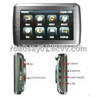 GPS Mobile Dispatch Terminal MDT100(vehicle tracking system/car tracker
