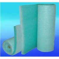 Glass fiber paint stop filter pads