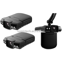 HD Car Driving Recorders with CMOS Sensor, Supports TV-out, 140 degree Wide-angle View