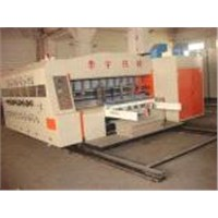 HUAYU-C series automatic printer slotter (die cutter) machine