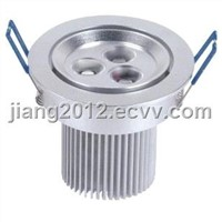 High quality,7x1w 7w white led downlight,3x3w 9w ceiling light,with power,580-600lm,Epistar led