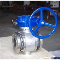 High wear resistant ball valve
